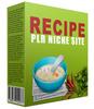 Thumbnail Recipe Niche Website