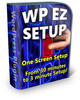 Thumbnail WP EZ Setup - WordPress 5 Minute Install