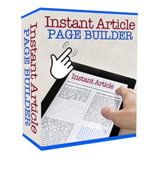 Pay for Instant Article Page Builder