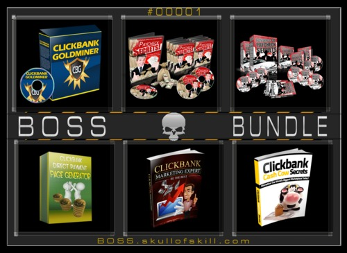 Thumbnail BOSS Bundle #00001 - ClickBank Bundle
