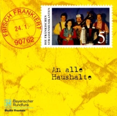 Pay for Die fränkischen Straßenmusikanten - Frisch frankiert