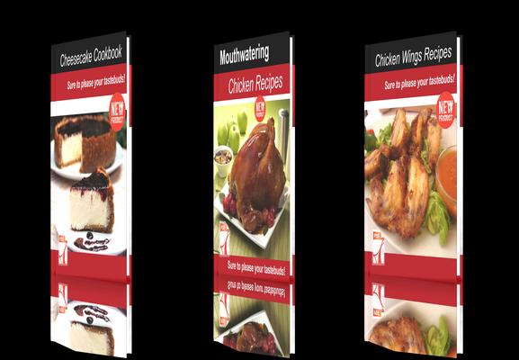 Pay for **NEW!**Fresh Recipes three E-books