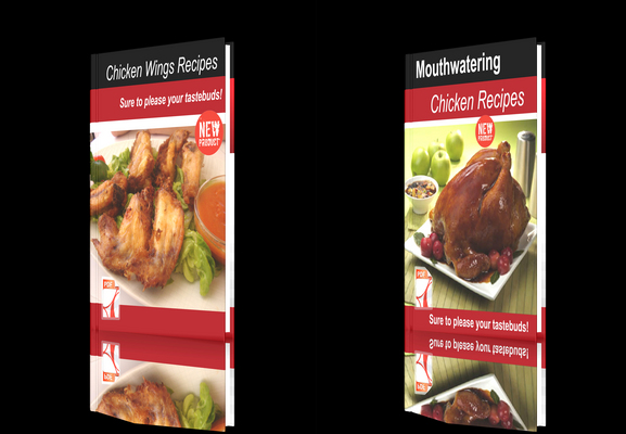 Pay for **NEW!**Two cookbooks Chicken Recipes+Chicken Wings Recipes.
