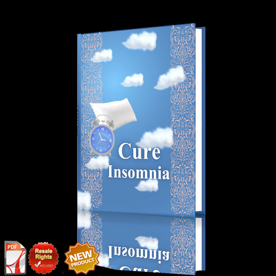 Pay for *NEW!* ebook to Cure Insomnia