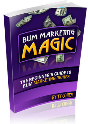 Pay for *new!* Bum Marketing Magic Master Resale Rights.Start Yo
