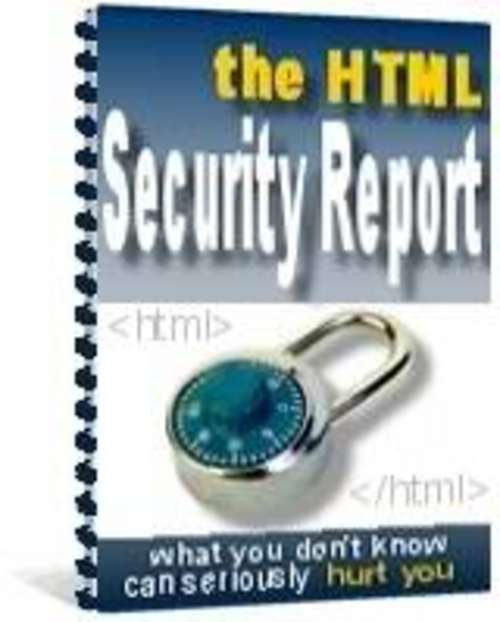 Pay for The HTML Security/security essentials/internet security