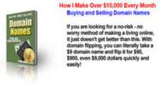 Thumbnail How To make $10,000 every month buying & selling Domains