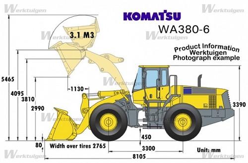 Komatsu WA380-6 Wheel Loader Workshop Repair Service Manual