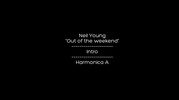 Thumbnail Neil Young - Out on the weekend - Harmonica A