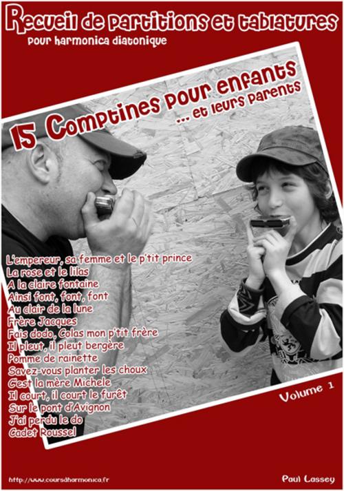 Pay for 15 Comptines pour enfants - Harmo diatonique - Paul Lassey