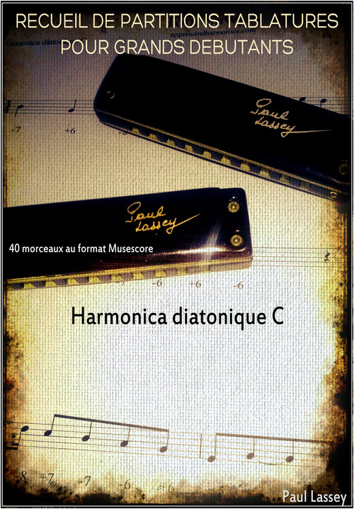 Recueil grands debutants - Harmonica diatonique C - Download Sheet ...