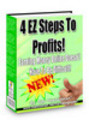 Thumbnail 4 EZ Steps To Profits - With Master Resell Rights