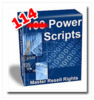 Thumbnail *NEW* 114 Super Powerful Scripts - with Master Resell Rights+BONUS