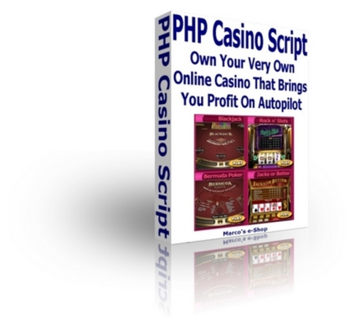 Pay for PHP Casino Script - Own Your Very Own Online Casino